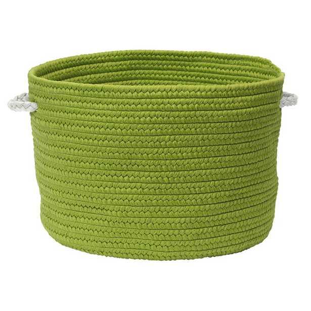 Colorful Braided Toy Polypropylene Basket - Green - Wayfair