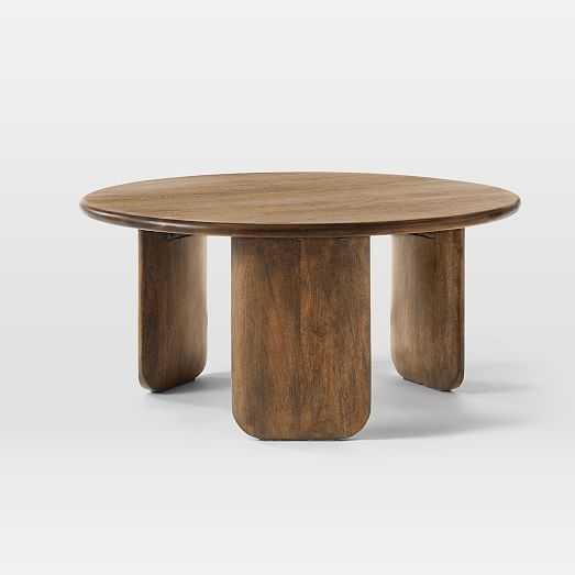 Anton Solid Wood Coffee Table - West Elm