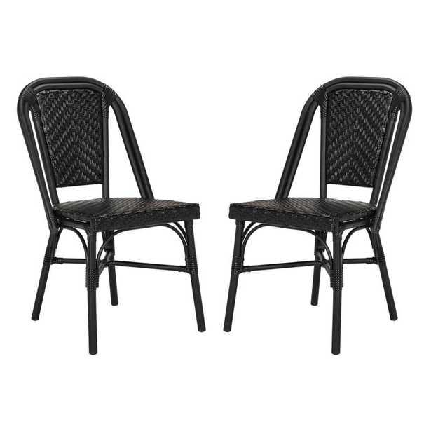 Rolf Patio Dining Chair, set of 2 - Wayfair