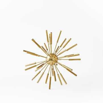 "Metal Sputnik Object, Small (10""), Brass - West Elm"