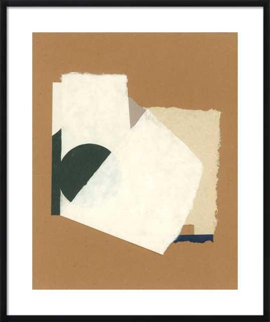 Poco a Poco by Hallie Brewer Black Wood Frame 28X34 - Artfully Walls