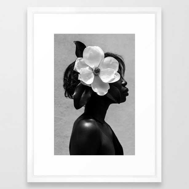 Magnolia Framed Art Print - Society6