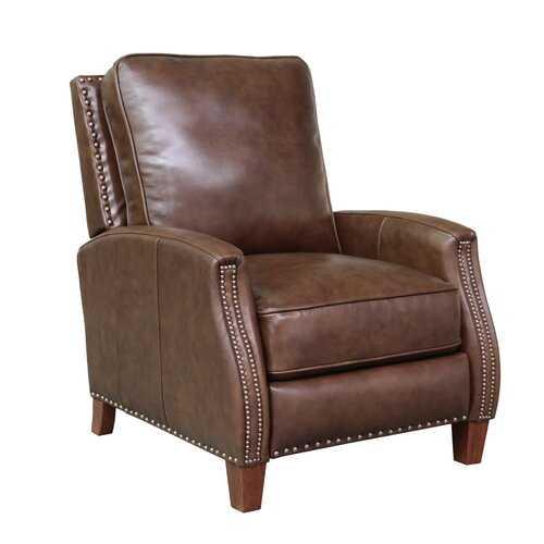Bradly Leather Manual Recliner - Wayfair