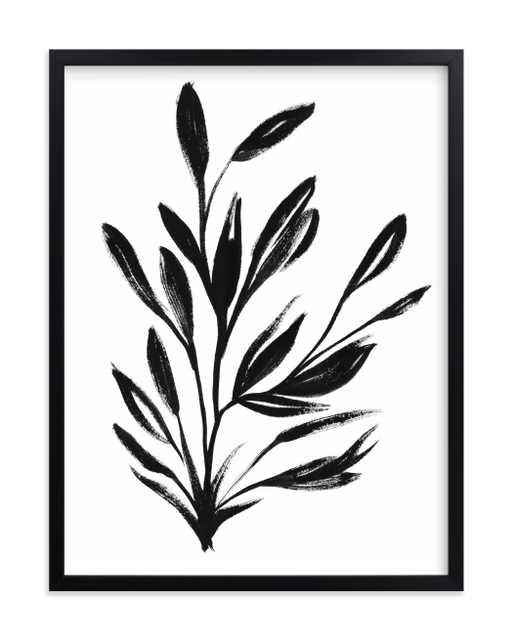 botanical sumi ink 18x24 - Minted