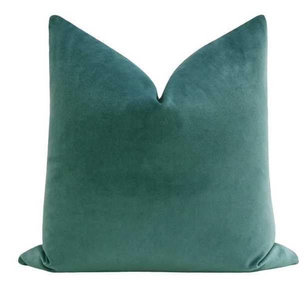 Society Velvet // Peacock - Little Design Company