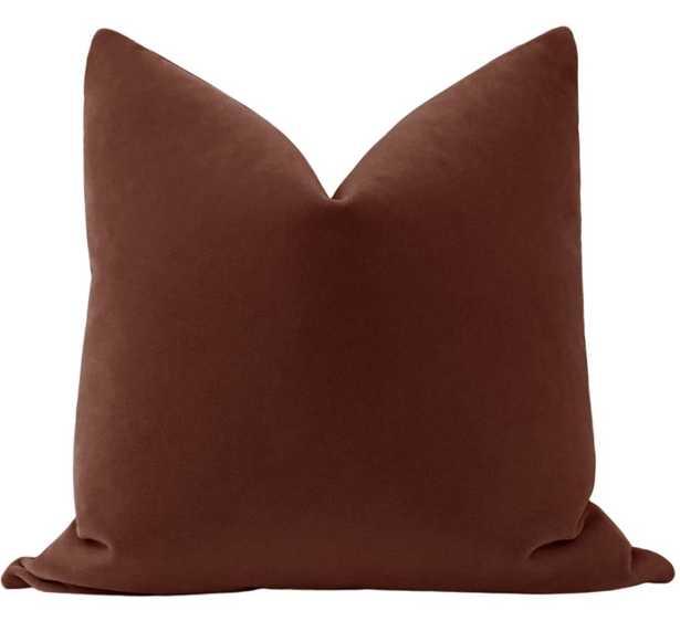 Mohair Velvet // Rouge - Little Design Company