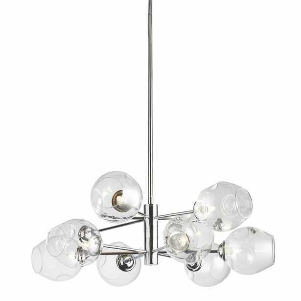 Cassana 8-Light Sputnik Modern Linear Chandelier - Wayfair