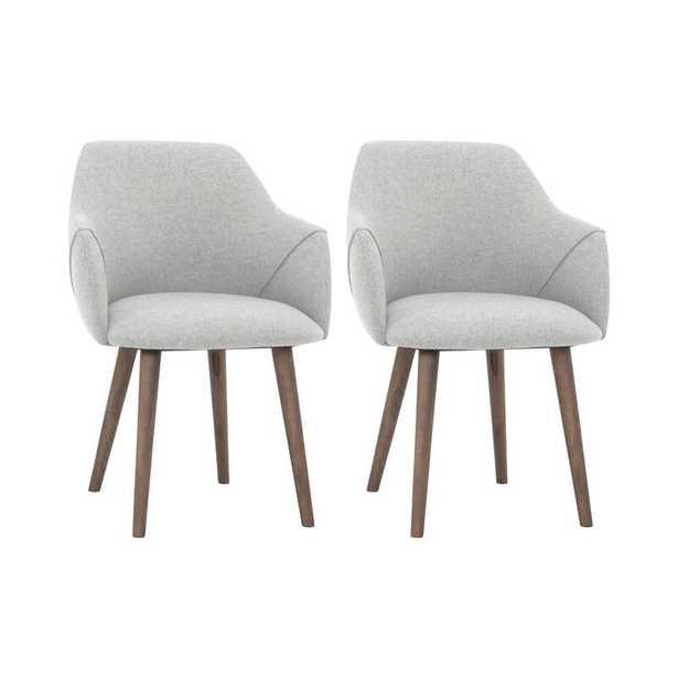 Creggan Upholstered Arm Chair (Set of 2) - Wayfair