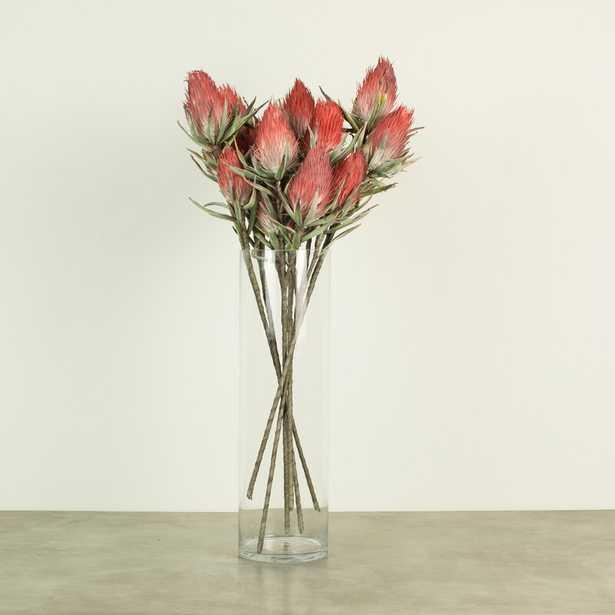 Red Faux Flower Stem (set of 6) - Wayfair