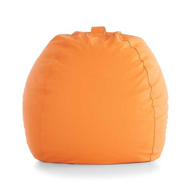 Large Orange Bean Bag Chair - Crate and Barrel