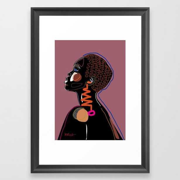 Twelani Framed Art Print - Society6