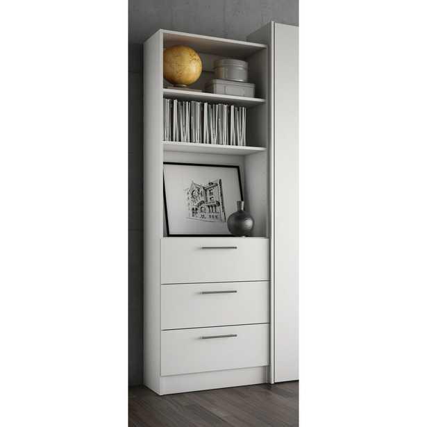 Lower Weston 3 Drawer Standard Bookcase - Wayfair