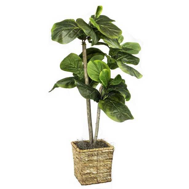 Foliage Tree in Basket - Wayfair