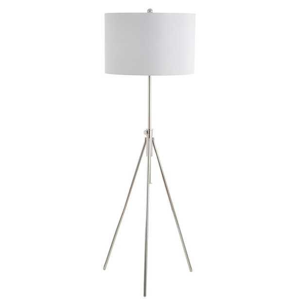 Cipriana Floor Lamp - Nickel - Arlo Home - Arlo Home