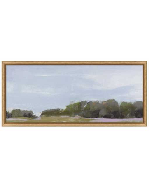 ABSTRACT LANDSCAPE 5 Framed Art - Small - McGee & Co.