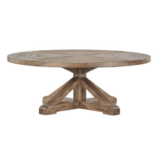 Alpena Pedestal Coffee Table - Wayfair