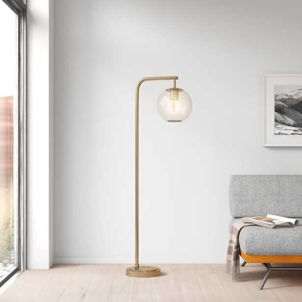 "Hingham 58.5"" LED Arched Floor Lamp - AllModern"