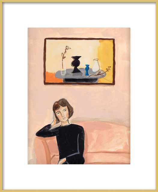 Marianne In Lobby - Artfully Walls