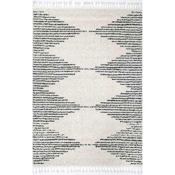Bria Moroccan Diamond Tassel Rug - Loom 23