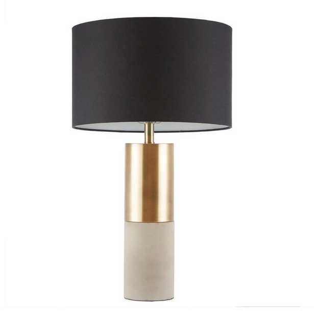 CONCRETE CYLINDER TABLE LAMP - Shades of Light