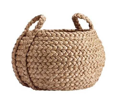 Beachcomber Basket, Natural, Large Round Tote - Pottery Barn