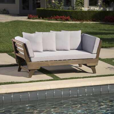 Ellanti Patio Daybed with Cushions - Wayfair