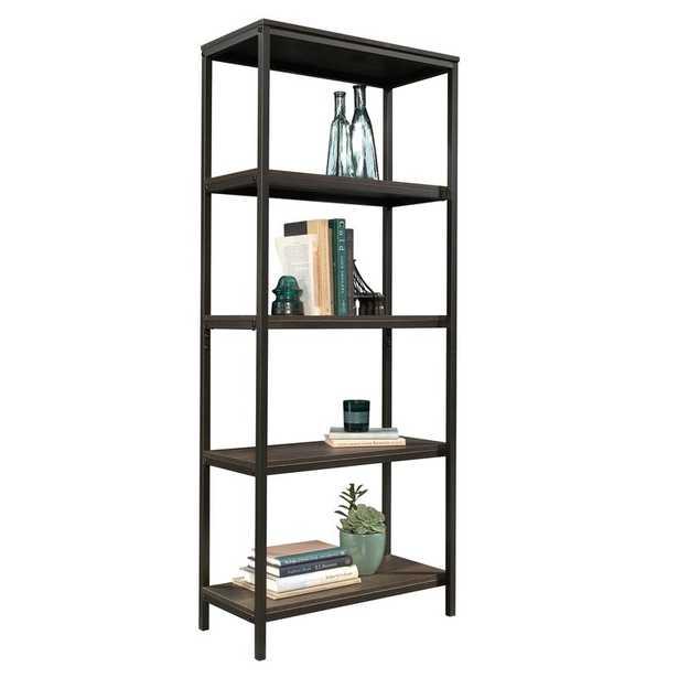 Ermont Etagere Bookcase - Smoked Oak - Wayfair