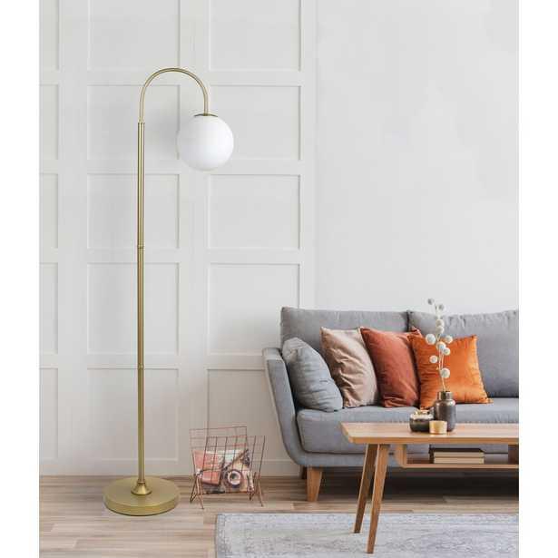 "Wykoff 60"" Arched Floor Lamp - Wayfair"