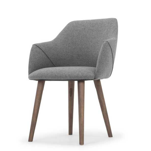 Brie Solid Wood Upholstered Dining Chair - AllModern