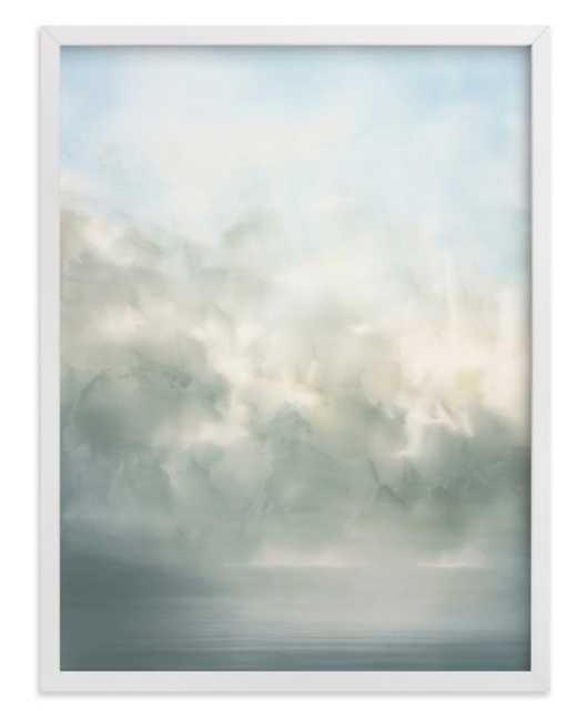 "Day dream 16"" x 20""  White Wood Frame - Minted"