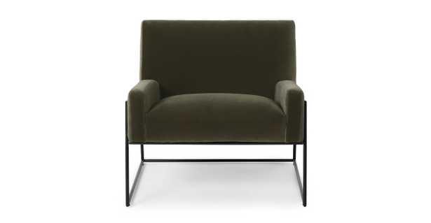 Regis Juniper Green Lounge Chair - Article