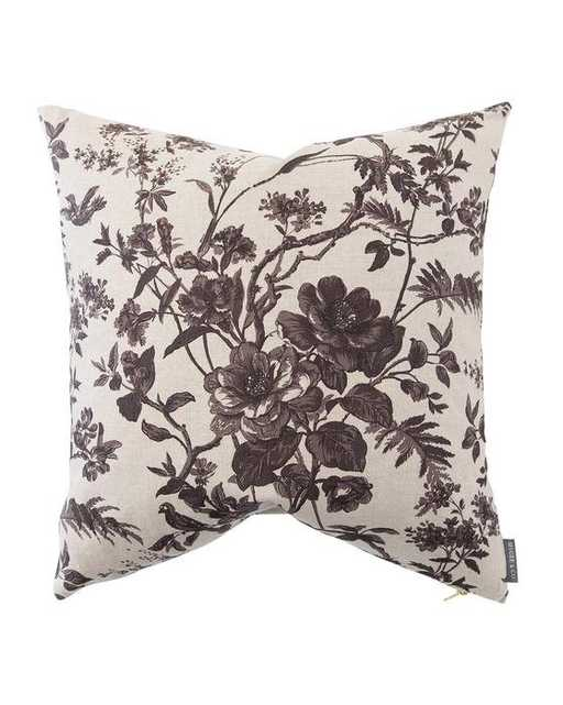 Cecily Floral Linen Pillow Cover - McGee & Co.