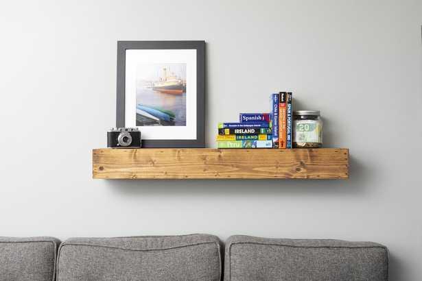 Oldfield Reclaimed Wood Floating Shelf - Wayfair