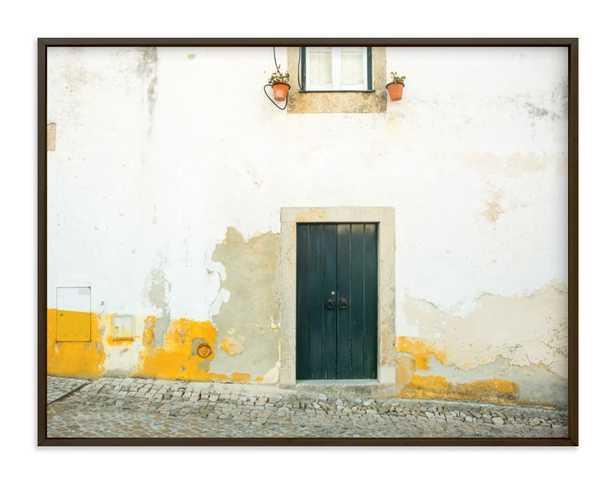 óbidos wall art, 40x30, matte black frame - Minted