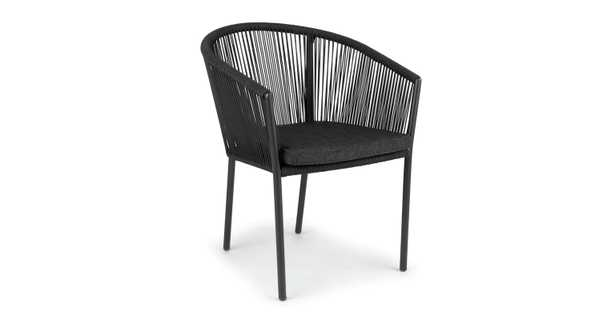 Corda Slate Gray Dining Chair - Article