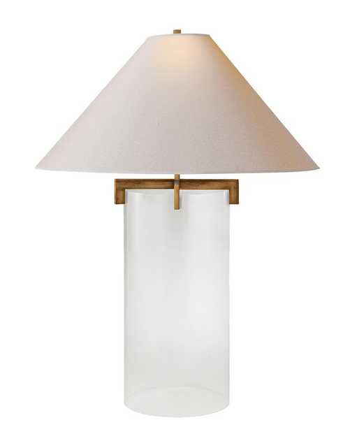BROOKS TABLE LAMP - GILDED IRON - McGee & Co.