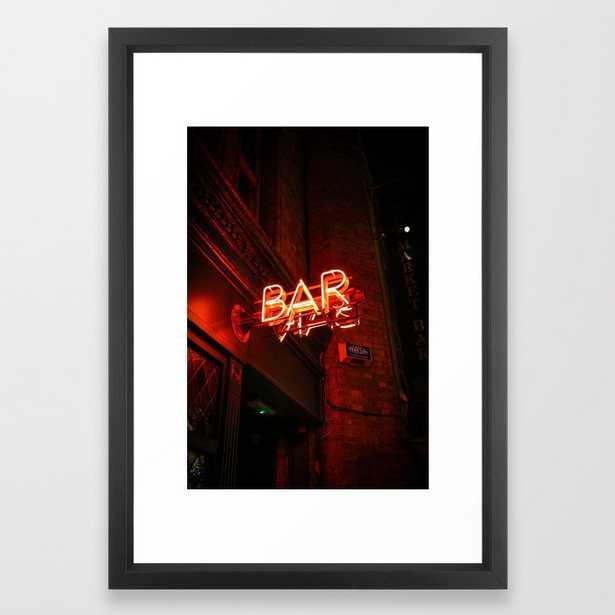 BAR (Color) Framed Art Print - Society6