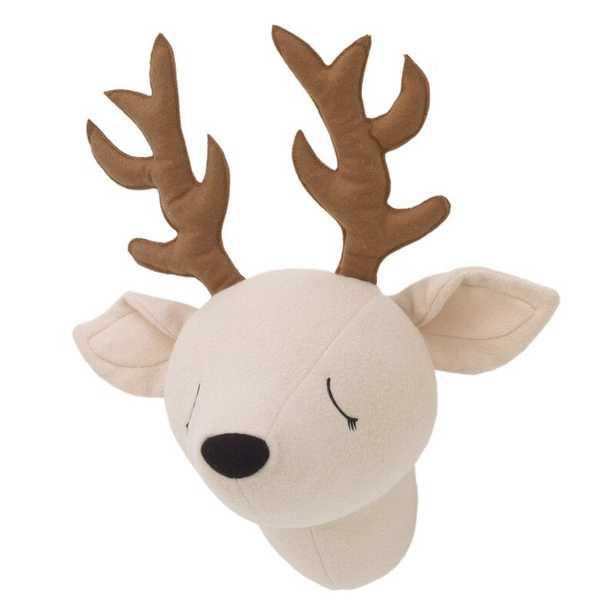 Plush Head Deer Faux Taxidermy - Wayfair