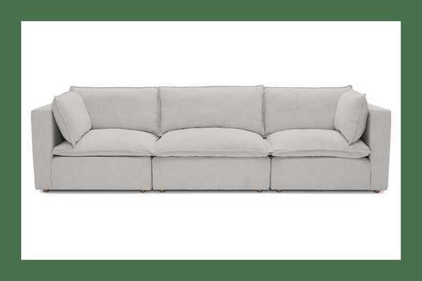 Haine Modular Sofa / Sunbrella Premier Fog - Joybird