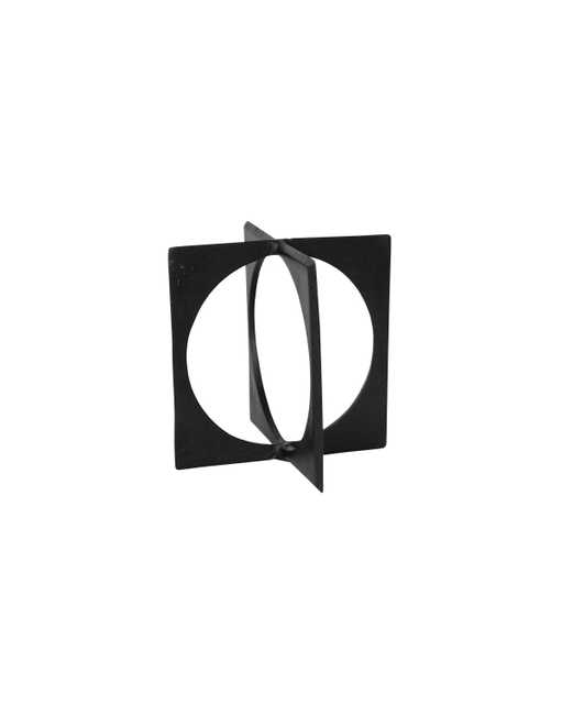 BRONZE CIRCLE IN SQUARE - McGee & Co.