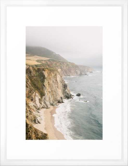 "Big Sur California Framed Art Print 15""x21"" - Society6"