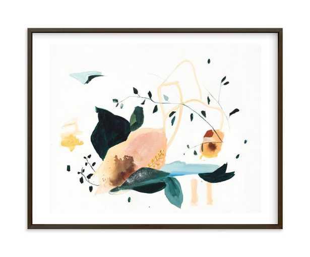 "lyrical framed art print - 20"" x 16"" - Minted"