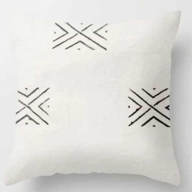 big X Throw Pillow // Indoor // 20X20 - Society6