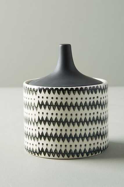 Caia Lidded Jar - Anthropologie