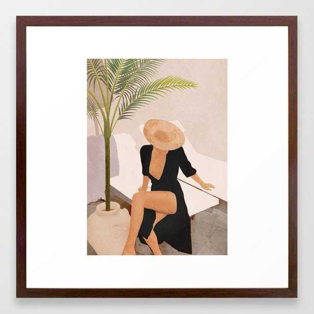 That Summer Feeling I Framed Art Print - Society6