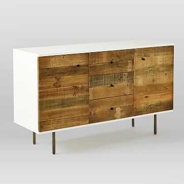 Reclaimed Wood + Lacquer Buffet, Amber Wash - West Elm