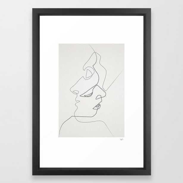 Close Framed Art Print - Society6