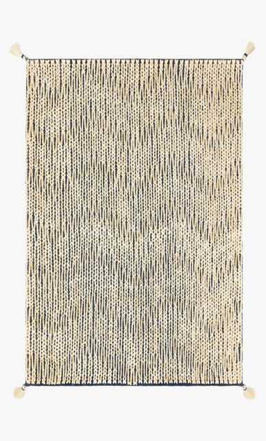 """PLY-01 JB Navy / Ivory 9'3"""" x 13' - Loma Threads"""