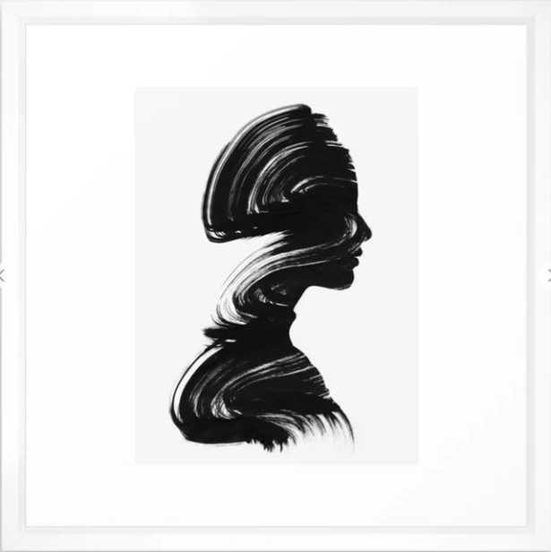 See Framed Art Print, 22x22 - Society6