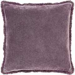 "Washed Cotton Velvet WCV-006, Down Insert, 18""x18"" - Neva Home"